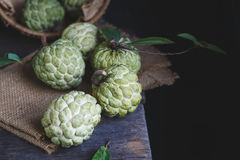Fresh Custard Apples Royalty Free Stock Photo