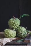 Fresh Custard Apples Stock Photos