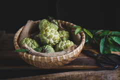 Fresh Custard Apples Stock Image