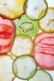 Fresh cut fruit Stock Images