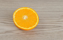 Fresh cut  orange Royalty Free Stock Photography