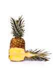 Fresh Cut Pineapple Royalty Free Stock Photo