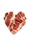 A fresh cut of ribeye steak Royalty Free Stock Photos
