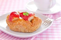 Fresh danish pastry Stock Photo