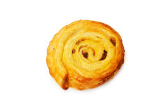 Fresh danish pastry isolated Stock Photography