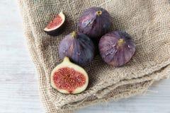 Fresh dark figs Stock Image