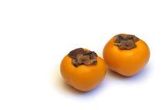 Fresh date plum isolated Stock Photos