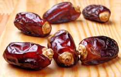 Fresh dates Stock Photos