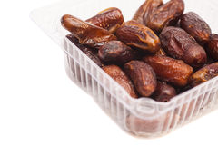 Fresh dates fruits isolated Stock Photos
