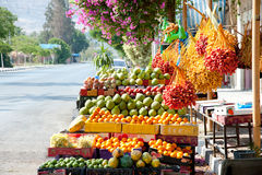 Fresh Dates at Jericho Market Royalty Free Stock Photos