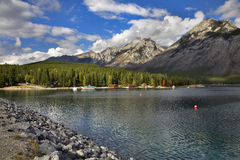 Fresh day on lake. Stock Photography