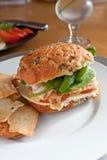 Fresh Deli Sandwich Stock Images