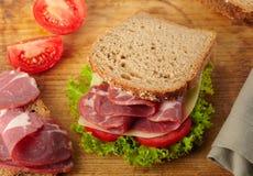 Fresh Deli Sandwich Royalty Free Stock Image