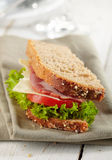 Fresh deli sandwich Stock Photo