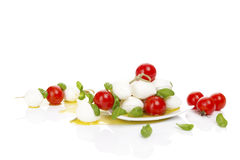 Fresh delicious caprese. Stock Photography