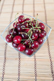 Fresh delicious cherries Stock Image