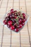 Fresh delicious cherries Stock Image