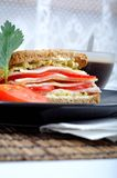 Fresh and delicious classic toast with coffee Stock Photo