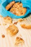 Fresh delicious cookies Stock Photo