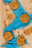 Fresh delicious cookies Royalty Free Stock Photo