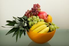 Fresh and delicious fruits Royalty Free Stock Photos