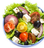 Greek salad. Stock Photo