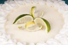 Fresh delicious Key Lime Pie Stock Photo