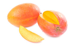 Fresh delicious mango fruit and slice Stock Photography