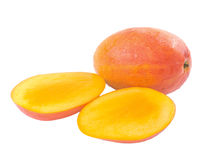 Fresh delicious mango fruit and slice Royalty Free Stock Photography