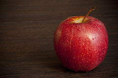 Fresh and delicious red apple Royalty Free Stock Photo