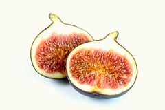 Fresh delicious red figs Royalty Free Stock Photography