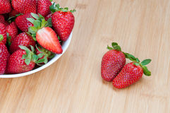 Fresh delicious red Strawberries Royalty Free Stock Photo
