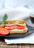 Fresh and delicious sandwich Stock Photos