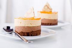 Fresh Dessert Stock Photography