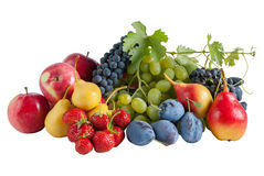 Fresh different fruits Stock Photos