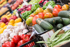 Free Fresh Different Vegetables In Market Royalty Free Stock Photography - 74429367