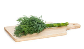 Fresh dill bunch Royalty Free Stock Photography