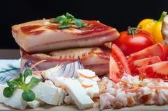 Fresh dinner Stock Image