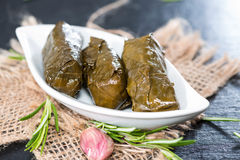 Fresh Dolmades Stock Photos