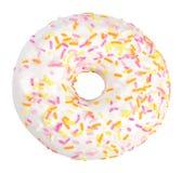 Fresh donut with sugar glaze Royalty Free Stock Image