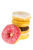 Fresh donuts Stock Images