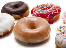 Fresh Donuts Royalty Free Stock Photos