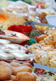 Fresh donuts, cookes, sweets, Royalty Free Stock Photo