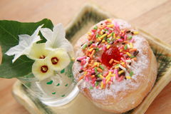 Fresh donuts Royalty Free Stock Photos