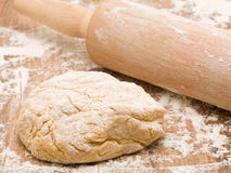 Fresh dough Stock Photography