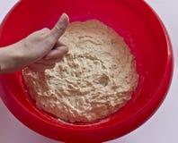 Fresh dough for bread Stock Photo