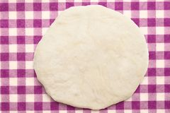 Fresh dough ready for baking Stock Images
