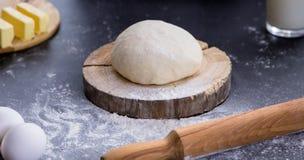 Fresh dough ready for baking Royalty Free Stock Image