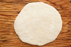 Fresh dough ready for baking Stock Photography