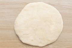 Fresh dough ready for baking Royalty Free Stock Photo
